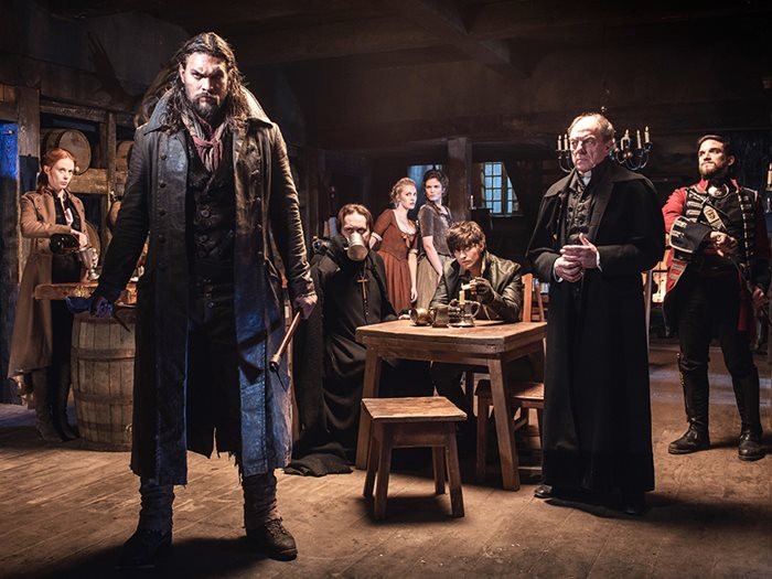 Watch the new TV series 'Frontier' starring Jason Momoa
